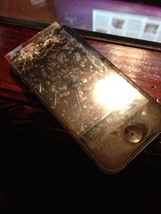 Broken phone