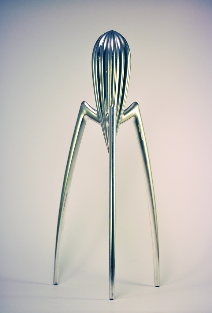 Juicy Salif juicer by Philippe Starck for Alessi