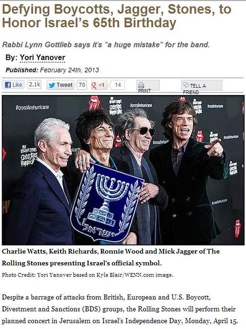 Rolling Stones - Jewish-Press Punked
