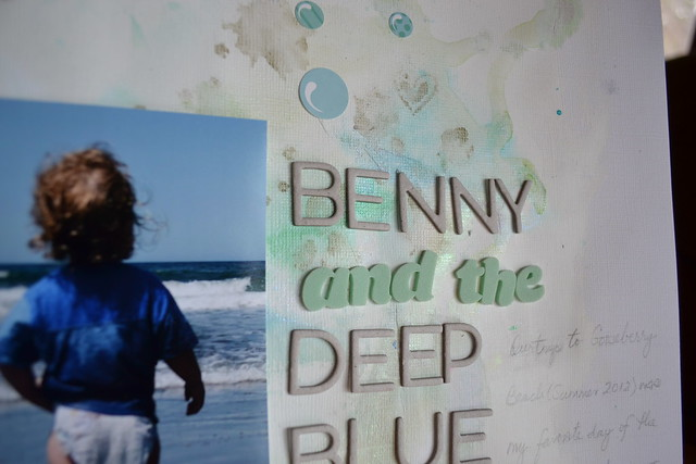 Benny and the Deep Blue Sea_closeup 1