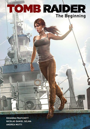 Tomb Raider - The Beginning comics
