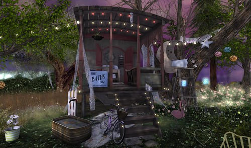 Home Sweet Home ~ Twilight Garden ~  Caravan 2