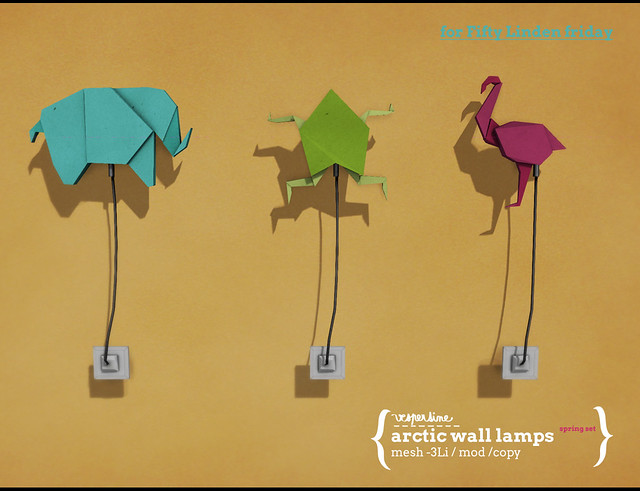 arctic wall lamps/spring