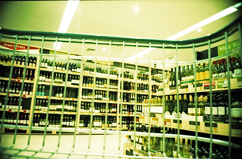 wine section from the trolley by pho-Tony
