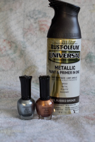 Rustoleum Universal and Nail Polish