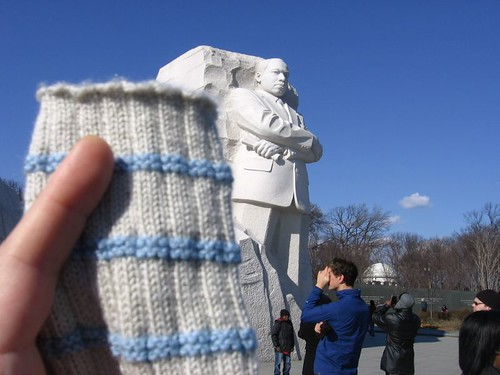 MLK and sock