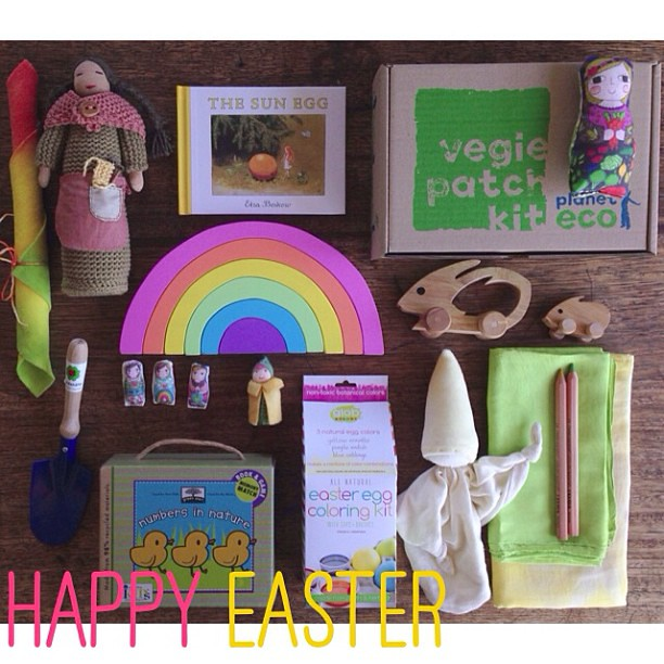 Have you hopped into our Easter shop yet? Visit spiralgarden.com.au, then click on this picture and all our recommendations for gorgeous, natural, fair trade Easter are there. xx