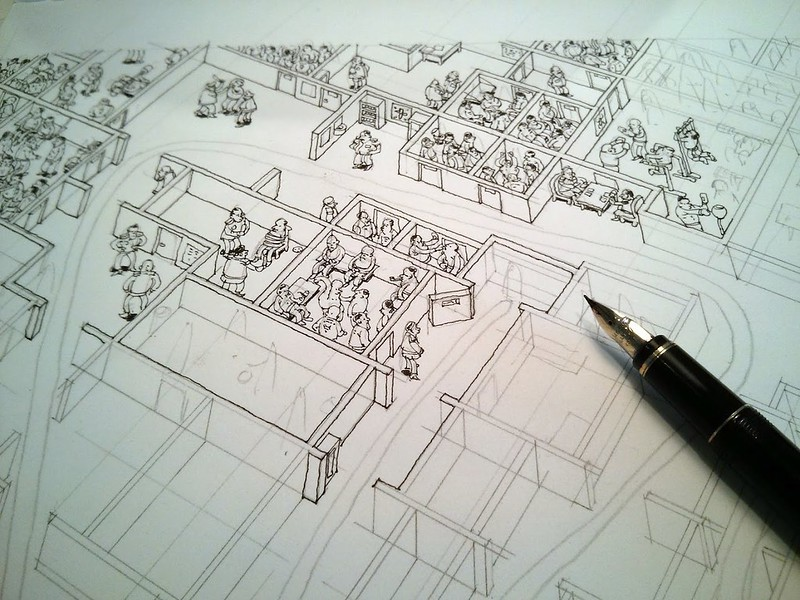 Moleskine sketchbbok22