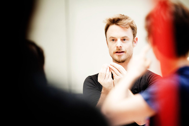 Christopher Wheeldon in rehearsals for Alice's Adventures in Wonderland © ROH/Johan Persson, 2011