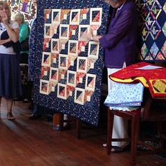 Margaret and her quilts by Scrappy quilts