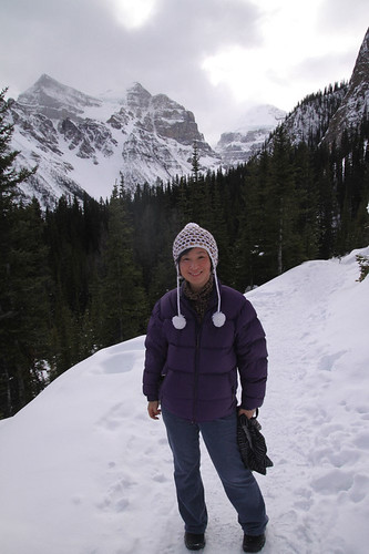 Hiking around the Lake Louise
