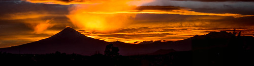 sunset magic volcanes volcanos popcatepetleixtlaxihuatl
