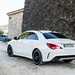 Mercedes-Benz CLA in St.Tropez by Teymur Visuals