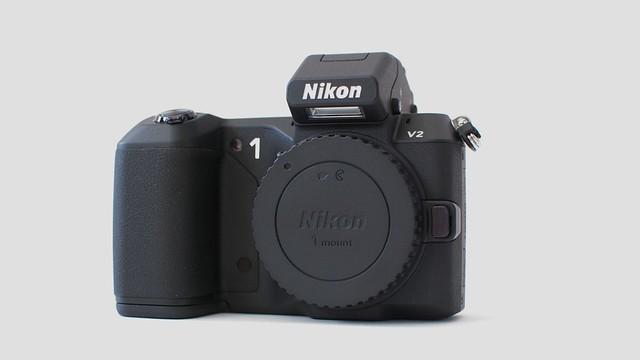 Nikon 1 V2前面