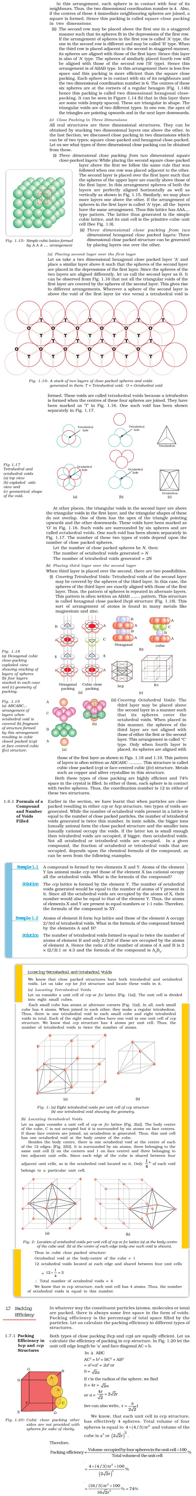 NCERT Class XII Chemistry Chapter 1 - The Solid State