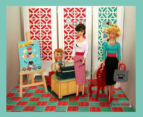Busy Secretary by Sartoria Gigi