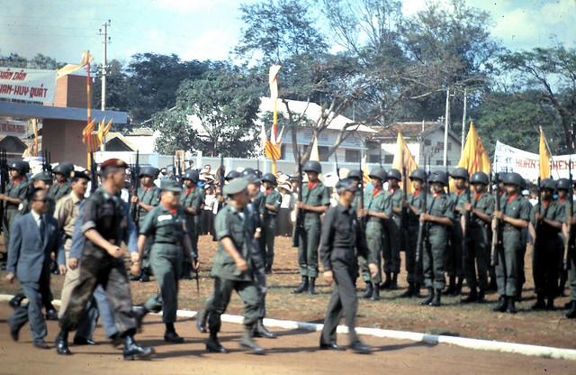 Qui Nhon - Premier passing in review