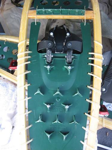snowshoe crampon decking