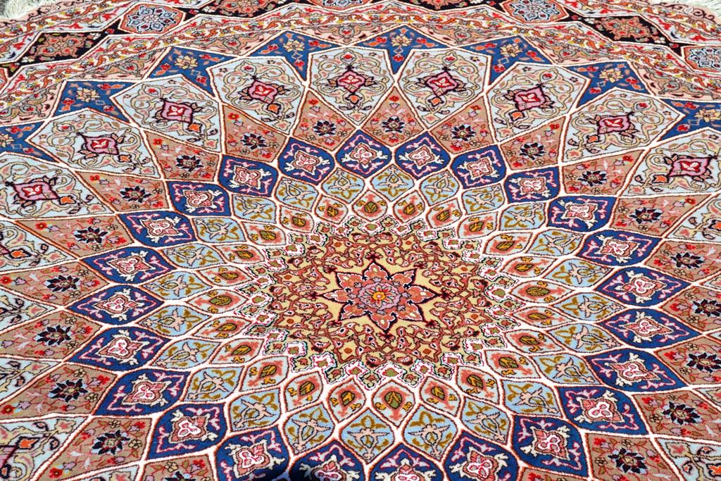 Gonbad Silk Persian Rug