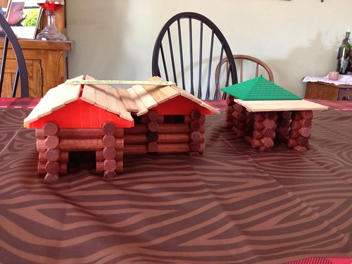 Lincoln Log houses