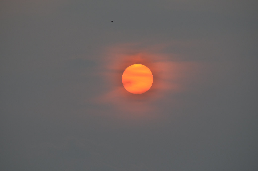 Sunset at Pantai Redang,Sekinchan 日落在适耕庄熱浪沙灘