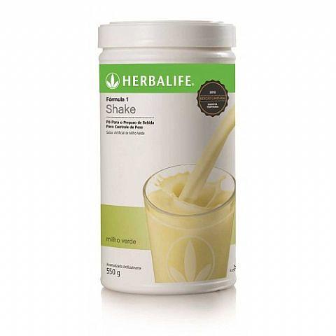 Shake Herbalife Milho Verde