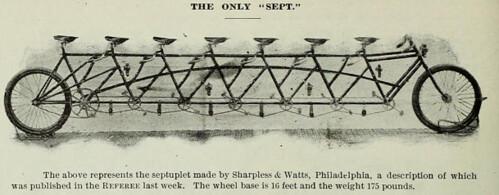 Sept (seven seat) Bike