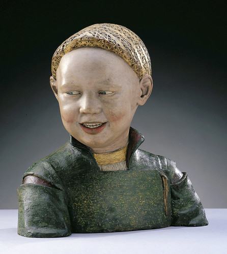 Laughing Boy - presumably Henry VIII as a boy by Guido Mazzoni by petrus.agricola