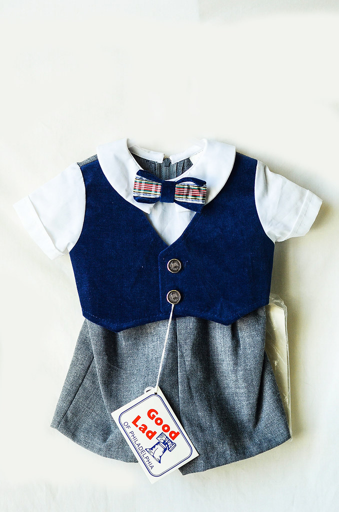 Vintage Fancy Outfit for Infant Boy
