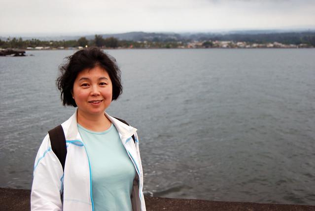 Chunlin at Hilo Bay