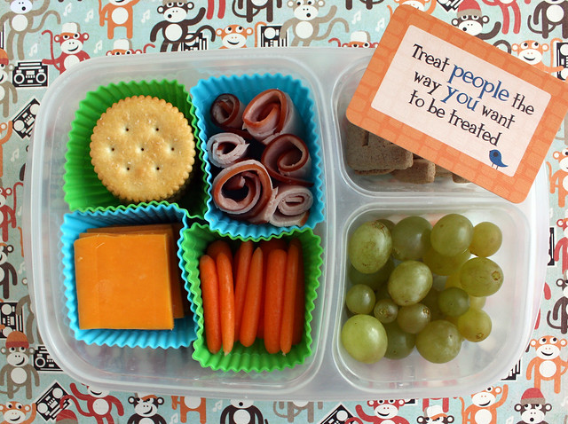 "Big Kid Fake ""Lunchables"" Bento #734"