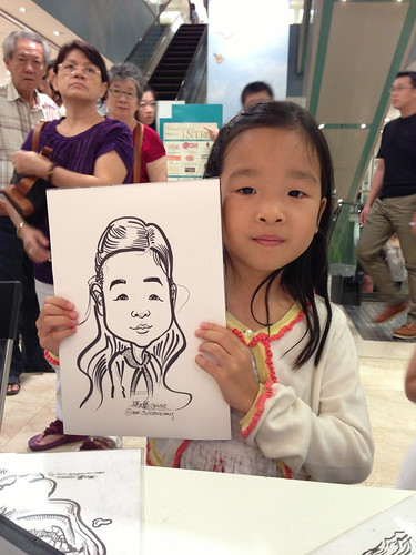 caricature live sketching for Takashimaya Good Friday Special - 20