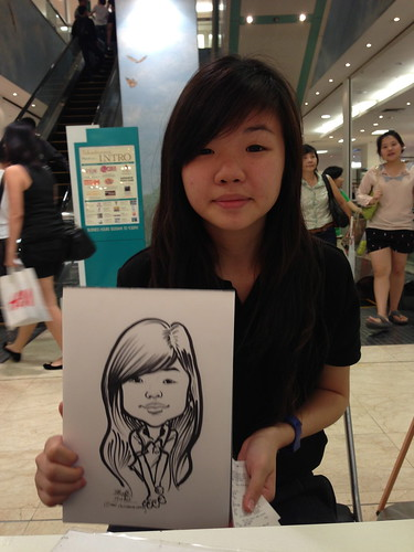 caricature live sketching for Takashimaya Good Friday Special - 31