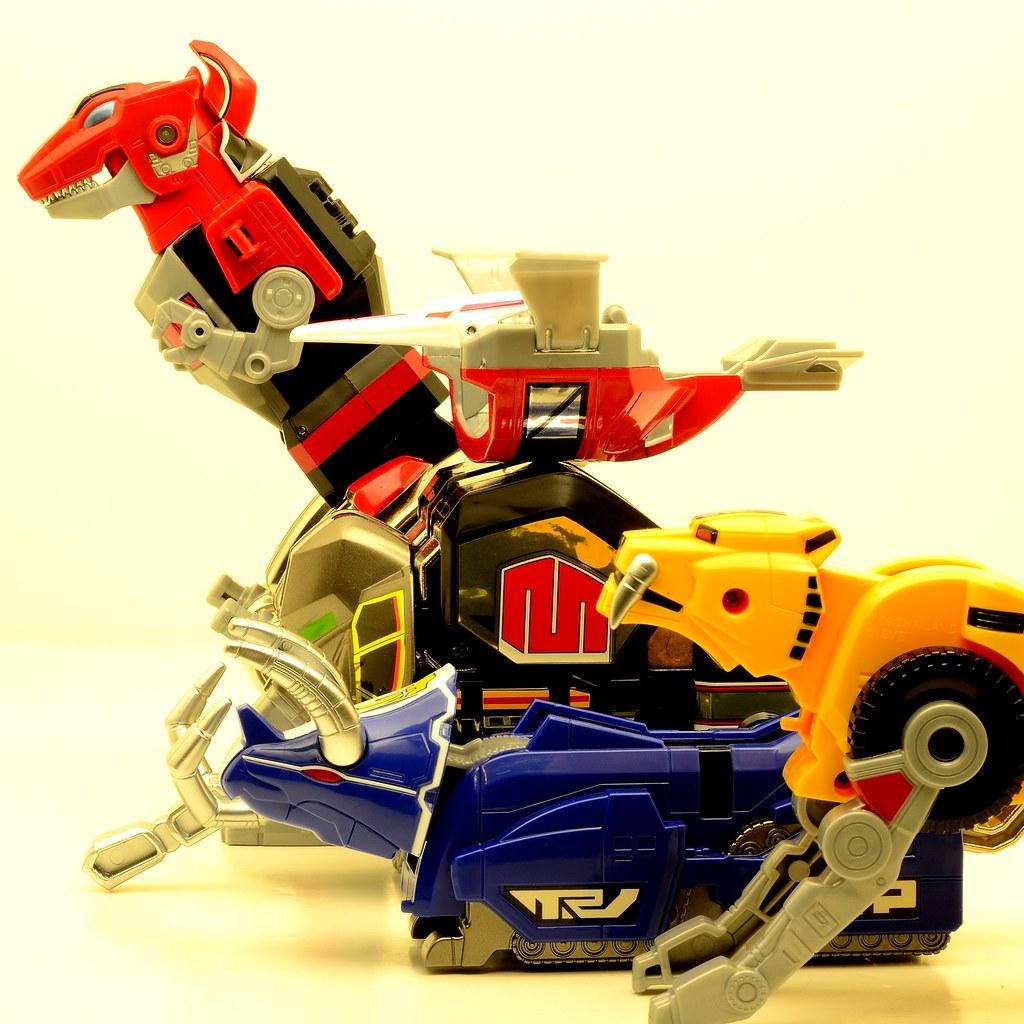 MMPR Dino Megazord