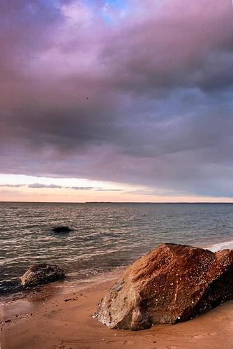 beach clouds longisland fortsalonga callahansbeach