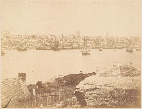 Panorama of Darling Harbour from Balmain - No.3