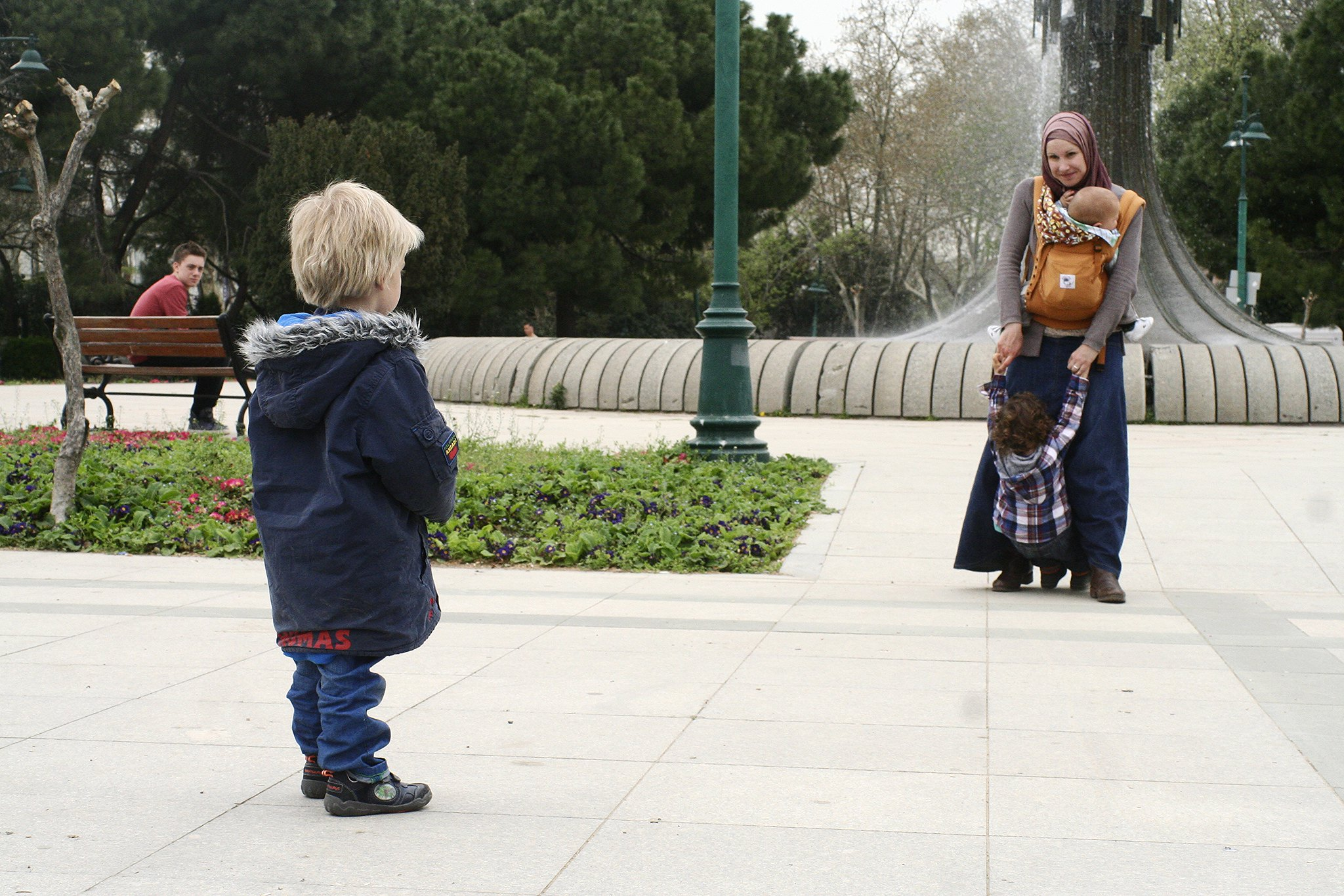 Ruskin, Anton, Suzie and K in Gezi Park