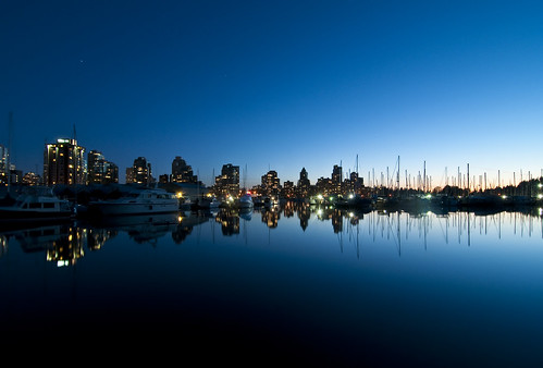 Coal Harbour at Stanley Park by petetaylor