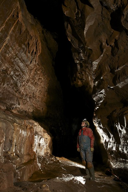Chasm Passage - Ogof Ffynnon Ddu 2