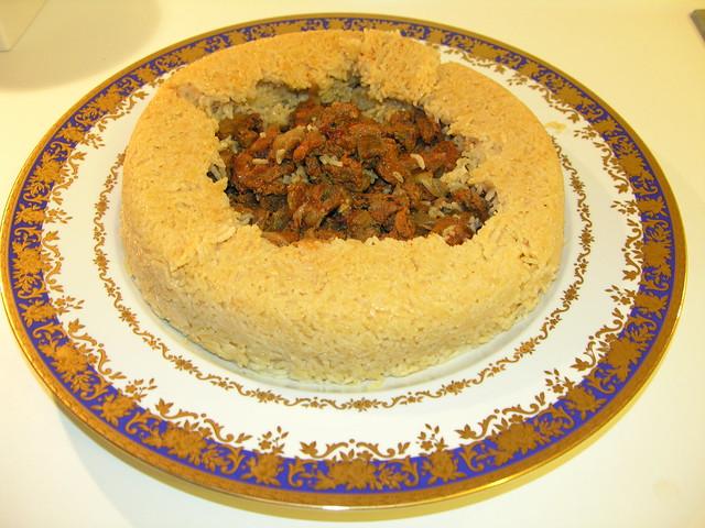Pilav, Yöresel yemek http://www.ssahraa.com/2013/04/tas-kebab.html