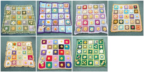 'SIBOL' is making and donating 9 Daffodil Blankets to the 9 Marie Curie Cancer Care Hospices up and down the Country. Two more on their way soon.