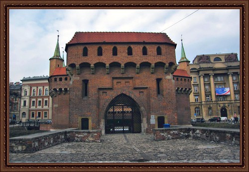 Krakow Barbican - Castle fortification