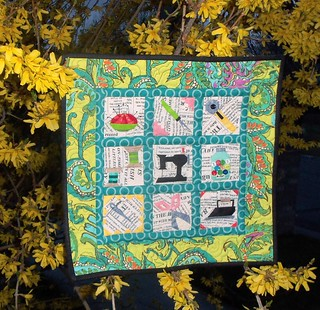 Mini Quilt for sideswap with Nanotchka...