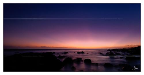 sea reunion twilight nikon sigma paysage crépuscule nocturne réunion 974 heliopan d7000 djimos