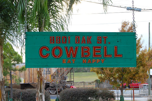Cowbell in the River Bend. Photo courtesy of Cowbell-Nola.com.