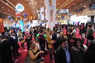 Más de 120 mil portugueses visitaron stand de México durante la Feria Mundo Abreu del 6 al 7 de abril de 2013