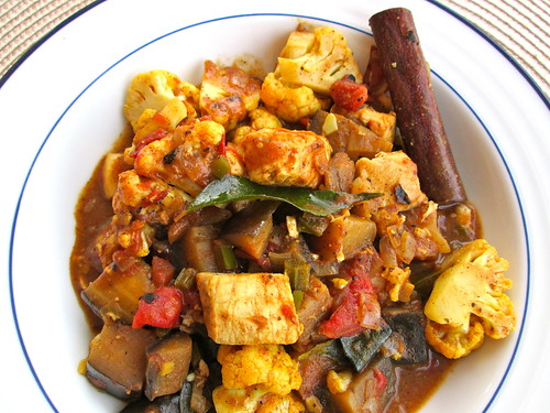 Cauliflower & Eggplant Curry