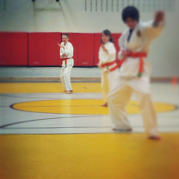 Going for green belt!! #karate #fingerscrossed #dayonedone #shashasha #cmig365apr