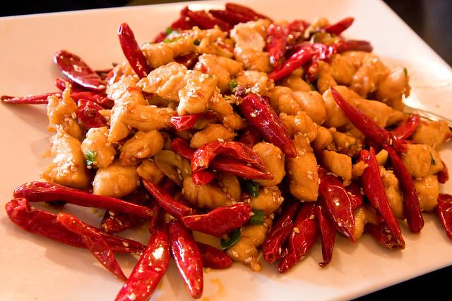 Chongqing diced chicken, Hot Kitchen