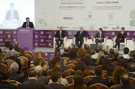 Lebanon builds up leadership for CSR in Middle East